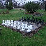 Lazy Cloud B&B Chess Board