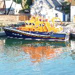 Life boat from bedroom window