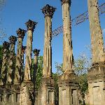 The Windsor Ruins are what's left of a civil war era mansion.  They're beautiful and haunting.