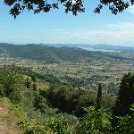 View over countryside from Santa Margherita