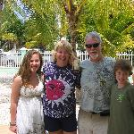 Kids with Kenny and Margaret