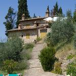Podere Montese from the Pool