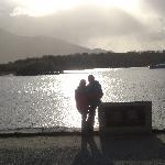 Abendstimmung am Loch Lein