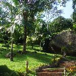 Jardin immense de la poussada