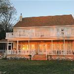 The Baywood Inn at sunset