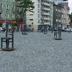Memorial Square to Krakow Ghetto victims