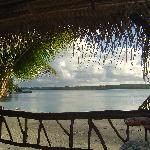 Inano Beach Front Deck View
