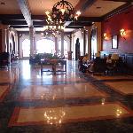 Hotel lobby - wifi enabled