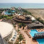 Hotel lara beach pool & entertainment area