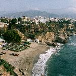Beach at Nearby town of Nerja