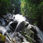Kanching Rainforest Waterfall