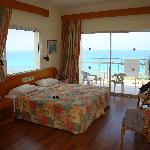 Sea view room with dual aspect