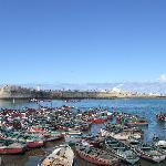 Le port et la cité Portugaise