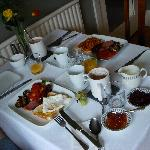 Our lovely english b'fast