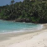 A empty beach-very private !!!