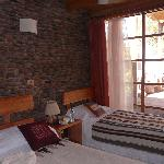 Bedroom at Terrantai hotel, San Pedro de Atacama