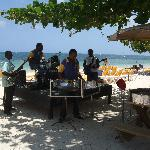 Dreams of steel band on beach