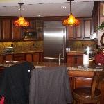 Kitchen in unit