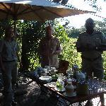 Breakfast in the bush