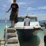 all aboard shangrila's own speedboat transfers