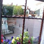 view from a window in the front