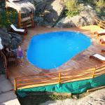 Hermosa piscina del complejo