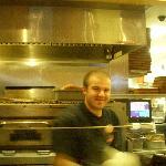 Friendly pizza maker!