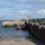 pier at Blacksod Bay