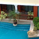 rooms with direct access to the pool