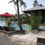 main lobby and pool