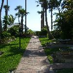 Walkway to Heaven, or the beach