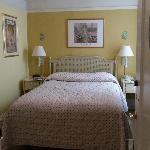 Cozy sunny yellow room