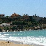 Hotel Riviera visto dalla spiaggia