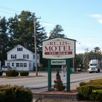 This is a pic of The Route 125 Motel's sign we took during of first stay, this is a clean motel.