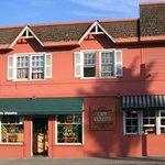 Cafe Violette's charming building