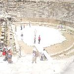 Ampitheatre at Ephesus (use local transport to get there)