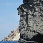 great view of a face in the rock!