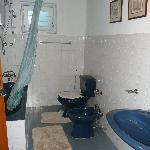 salle de bain chambre luxe