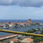 vista desde el puente lado de Otrobanda