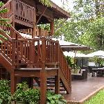 Bar/terrasse à l'extérieur