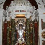 Chiesa del Gesù - reliquia di San Francesco Saverio
