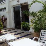 Terrace of room at Hotel Le Pietri - Rabat (Morocco)