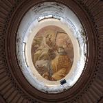 Basilica Soluntina - l'oculo affrescato