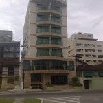 Hotel facing road