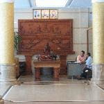 Lobby 1 (Wood carving)