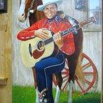 Gene Autry painting