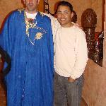 Yo con el dueño Ibrahim