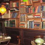 inside de3Vrienden - great for booklovers too!