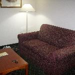 Sitting area (sleeper sofa)