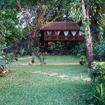 une villa côté jardin